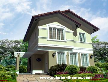 buy house and lot in cebu - amalie model