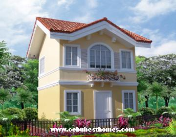 buy house and lot in cebu - Bettina model