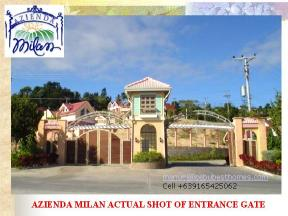 buy house and lot in cebu - entrance gate