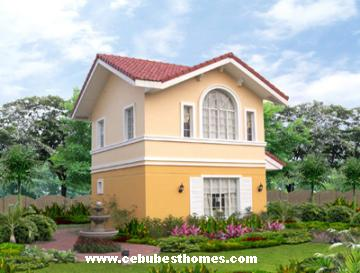 buy house and lot in cebu - Tiffany model