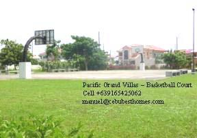 cebu real estate - pgv basketball court