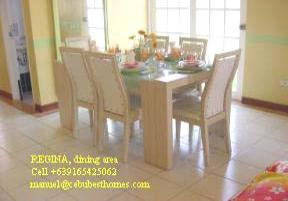 cebu real estate - regina dining