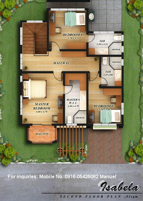 Floor plans of 4 house models in fonte di versailles for Small house design worth 300 000 pesos